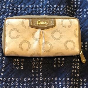 Coach outlet wallet.